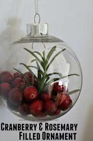 cranberry and rosemary ornament the happier homemaker