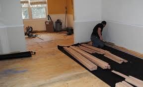 do we install hardwood floors