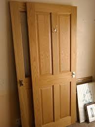4 panel doors interior varnishing doors u0026 light oak coloured varnish