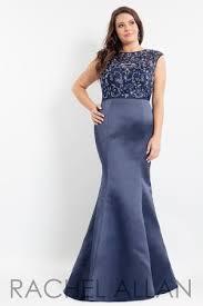 rachel allan plus size prom dresses