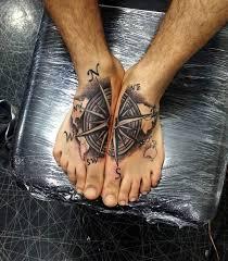tattoo compass hand compass tattoo foot ideas tattoo designs