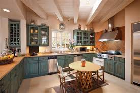 Santa Fe Style Interior Design by The Elemental Things Abide At Home With Earth Wind And Water