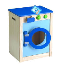 Scrub Up wooden kitchen with washing machine from toys scrub up uk