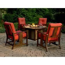 luxury fire pit patio set outdoor outdoor