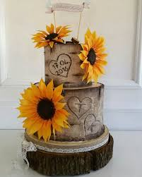 sunflower wedding sunflower wedding cake design sunflower wedding