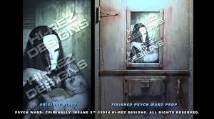 psych ward criminally insane 2 halloween asylum video effect