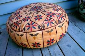 Large Outdoor Floor Pillows by Moroccan Pouf Ottoman Moroccan Pouf U2013 Home Design By Fuller