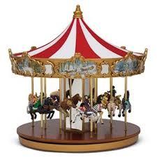 christmas carousel mr christmas world s fair animated musical classic