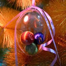 30pcs tree decoration plastic hollow balls ornaments