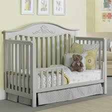 Fairytale Crib Mattress By Colgate Fisher Price 4 In 1 Convertible Crib In Grey