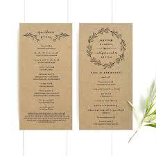 wedding programs wording template program template wedding programs wording