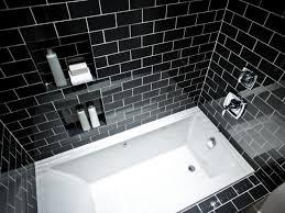 tile black and white marble tile bathroom design ideas unique