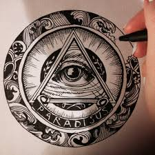 all seeing eye drawing tatoos