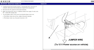 2006 honda odyssey lx the front blower motor u0026 ac is intermittent