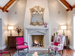 fireplace surround mantel roman shades bookcase built ins crown
