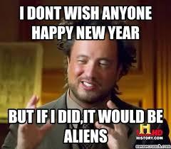 Happy New Year Meme 2014 - dont wish anyone happy new year