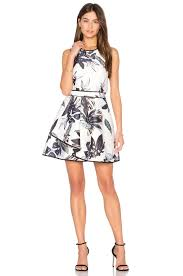 keepsake dresses keepsake coming home mini dress in abstract floral print revolve