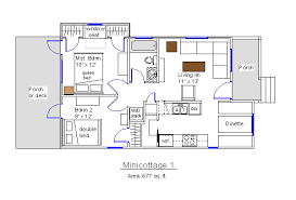 Micro Cottage Plans by Gorgeous Ideas Micro Cottage Plans Free 11 16 X 24 Sample Floor