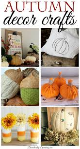 autumn decor diy autumn decor crafts domestically speaking