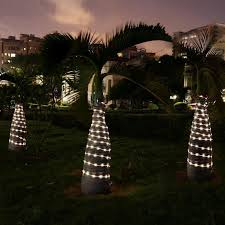 solar string lights 33ft 100 led solar lights decorative