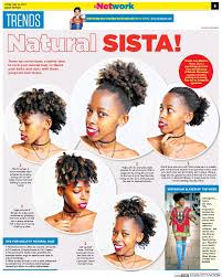 natural hair after five styles pressreader daily nation kenya 2017 07 14 trends five