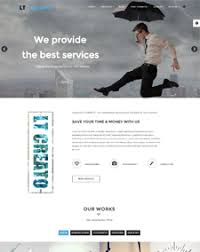 responsive free one page joomla templates
