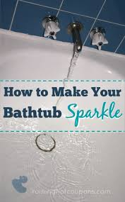 How To Clean A Bathtub With Comet Best 25 Tub Cleaner Ideas On Pinterest Shower Cleaning Diy