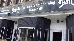 axe throwing boutique niagara falls mayday youtube