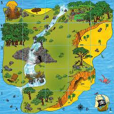 Treasure Island Map Buy Bee Bot And Blue Bot Treasure Island Mat Tts