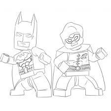 73 coloring pages lego batman robin lego batman
