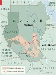 africa map khartoum fleeing the horsemen who kill for khartoum the economist