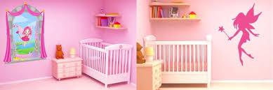 stickers chambre bébé fille fée stickers fées et princesses pour décorer la chambre d un bébé fille
