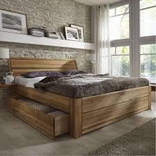 Schlafzimmer Komplett Schulenburg Massivholz Schubladenbett 180x200 Holzbett Bett Eiche Massiv Geölt