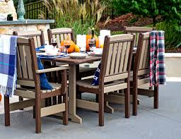 amish poly outdoor furniture poly lumber patio furniture
