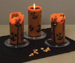 jack o melt halloween candles the green head
