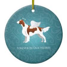and white setter ornaments keepsake ornaments zazzle