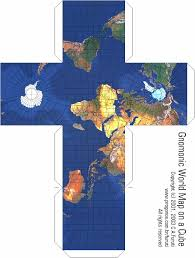 map projections cubical pseudoglobes