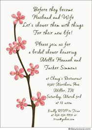 bridal invitation wording free cherry blossom clip cherry blossoms bridal shower