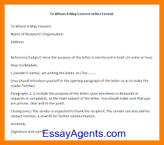 Work Certification Letter Sle To Whom It May Concern 7 To Whom It May Concern Letter Sample Informal Letter