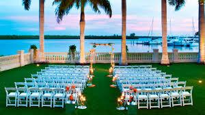 florida wedding venues wedding venues fort myers the westin cape coral resort at marina