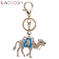 classic crystal ring holder images Lacoogh trendy classic crystal keyrings animal camel key chains jpg