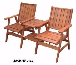 jack and jill love seat pallet setting outdoor dining