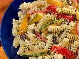pasta salda pasta salad with vegetables