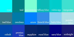 color blue green shades of bluecolor names shades of blue color names learn more