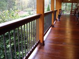 Mahogany Banister Wholesale Ipe Decking Supplier