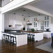 Kitchen Open Floor Plan Traditional Kitchen In A Non Traditional Totally Open Floor Plan