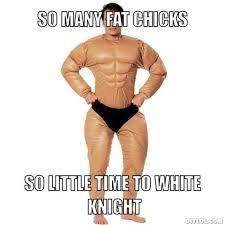 White Knight Meme - spaz mode engage archive opp
