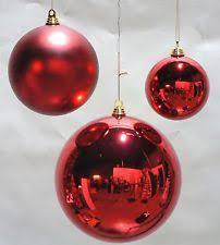 1 large shiny 8 gold balls outdoor plastic ornaments