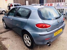 alfa romeo 147 automatic ts lusso selespeed 2 0 petrol auto 2004 1