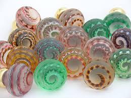 coloured glass door knobs 187 best knobs of glass images on pinterest glass door knobs